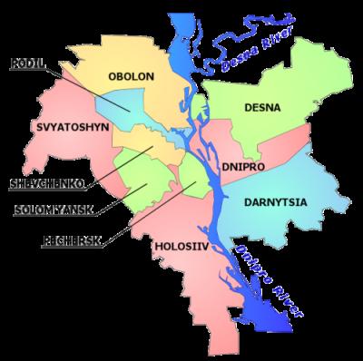 Kiev Districts