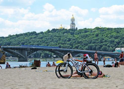 naturist beach in Kiev