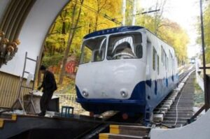 Kiev public transport, funicular