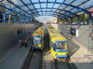 Kiev public transport system,Kiev speed tram
