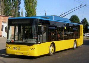 Kiev city trolleybus