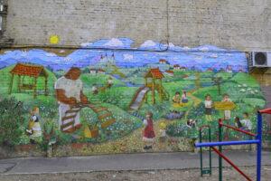 kiev murals